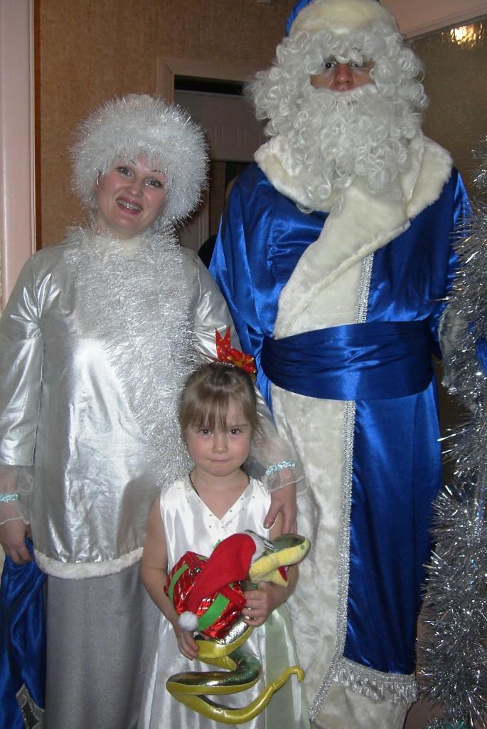 У меня в гостях Дед Мороз